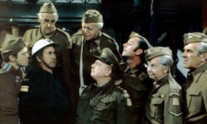 Dad's Army: repeated on BBC on Saturday nights.