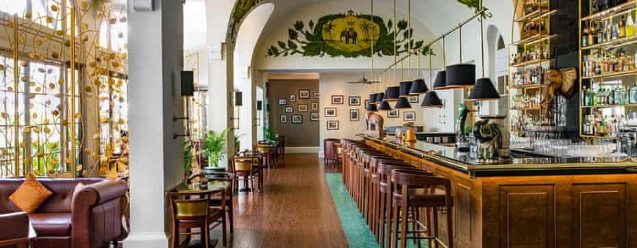 Elephant Bar, Hotel Le Royal, Cambodia