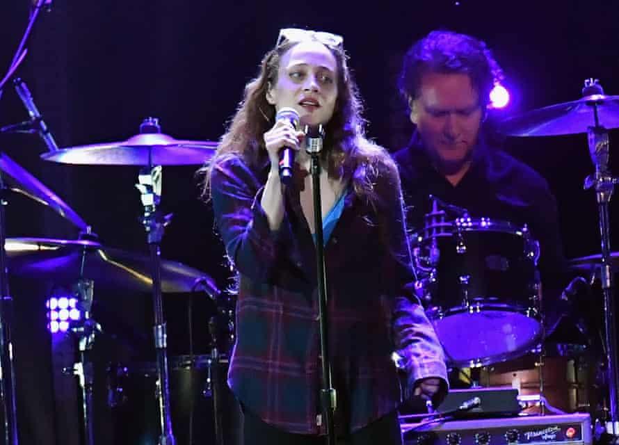 Fiona Apple onstage in Inglewood, California, 2019.