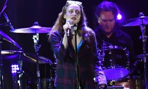 Fiona Apple on stage in California, 2019.
