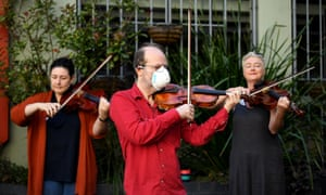 Members of Opera Australia Orchestra perform