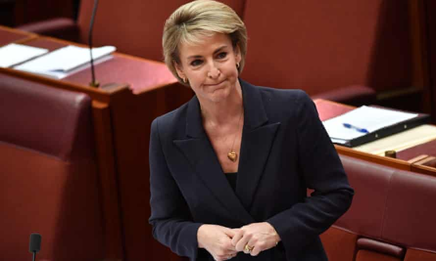 Australia's acting industrial relations minister Michaelia Cash