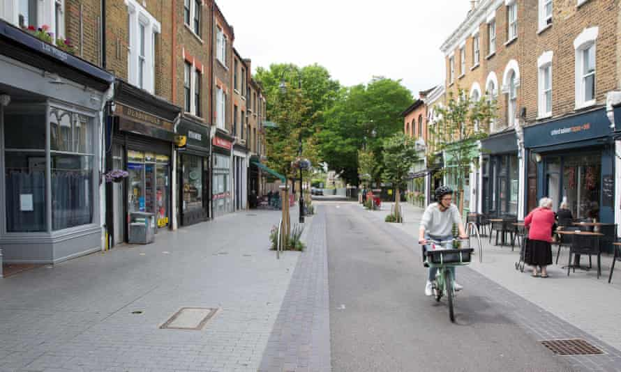 A mini-Holland scheme on Orford Road in Walthamstow, London.