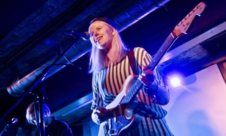 'I feel it doesn't do justice to the music if you only focus on my voice and whether it sounds like another female singer's voice,' says Amber Arcades.