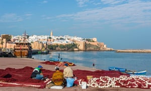 On the shores of Rabat … Morocco's capital city, where Lalami was born and raised.