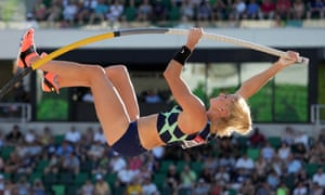 Katie Nageotte makes her Tokyo bow later today in Tokyo