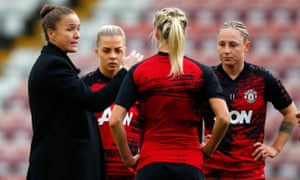 Casey Stoney is preparing her table-topping Manchester United team to face Emma Hayes' Chelsea on Sunday.