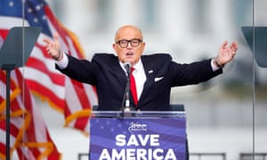 Rudy Giuliani under fire from prominent lawyers' group over election fraud claims and inciting pro-Trump mob at Capitol.