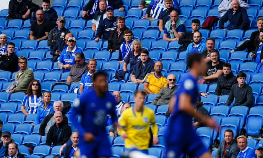 A small number of fans were allowed to attend Brighton's friendly at home against Chelsea in late August.
