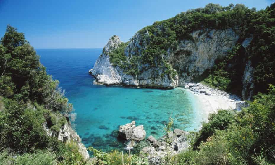 Greece, Pelion, Fakistra Beach, summer