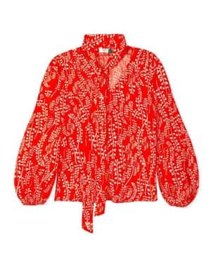 Moss red printed, £175, rixo.co.uk