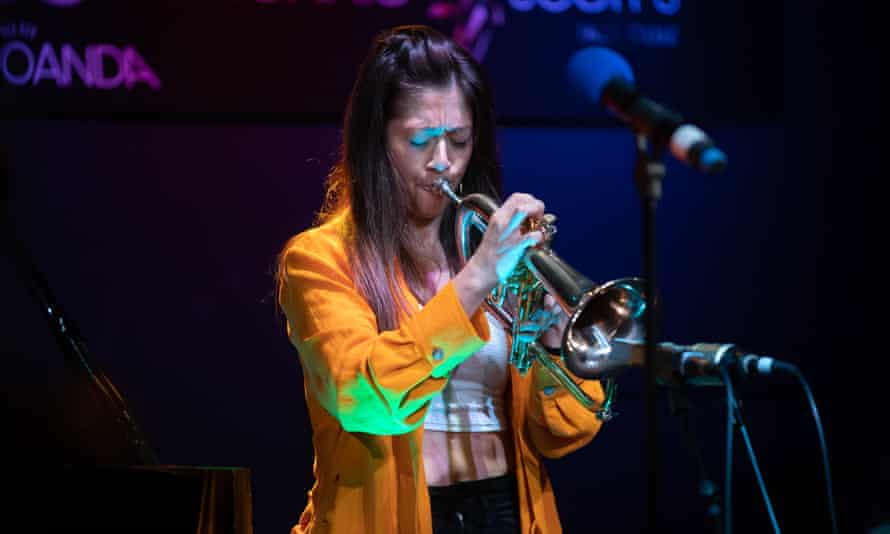 Yazz Ahmed, performing in London, in October.