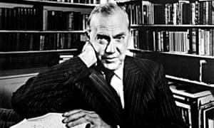 Graham Greene in 1975.