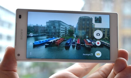 The Sony Xperia Z5 Compact