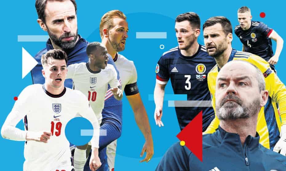 England v Scotland.