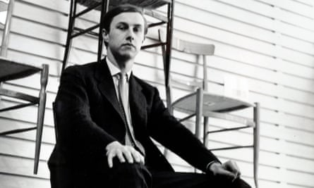 Terence Conran in about 1956, when he started his design practice.