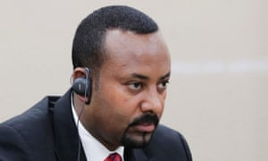 The Ethiopian prime minister, Abiy Ahmed, was recently awarded the Nobel Peace Prize for helping to end Ethiopia's 20-year-war with Eritrea.