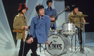 'I still don't think I'm the lead singer of the Kinks' … the band waits to perform on a TV show, 1968.