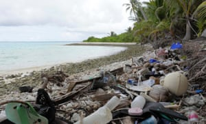 Plastic waste on the Cocos (Keeling) Islands is like the 'canary in the coal mine' in warning about the vast amount of litter in the oceans.