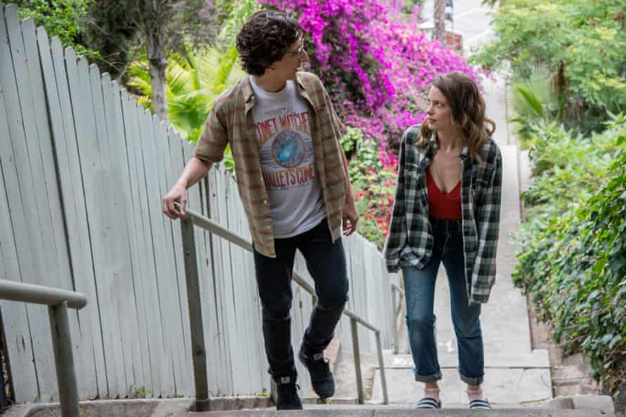 Paul Rust and Gillian Jacobs in Love.