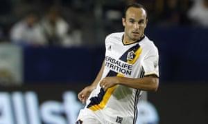 Landon Donovan's previous professional club was Los Angeles Galaxy