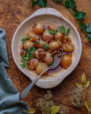 Onions a la monegasque.