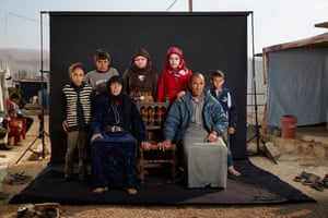 Mohammed and his family.