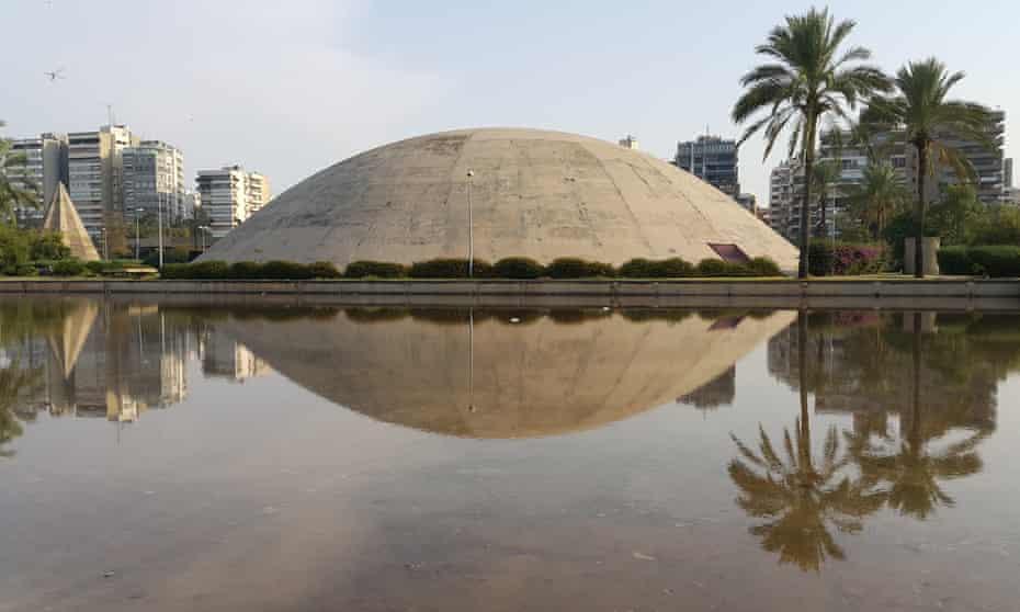 The Tripoli fair's domed theatre.