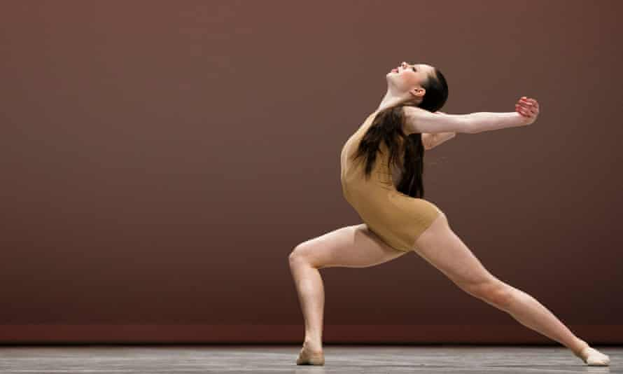 Sierra Armstrong performs her contemporary variation during the final of the 43rd Prix de Lausanne in Switzerland, 2015.