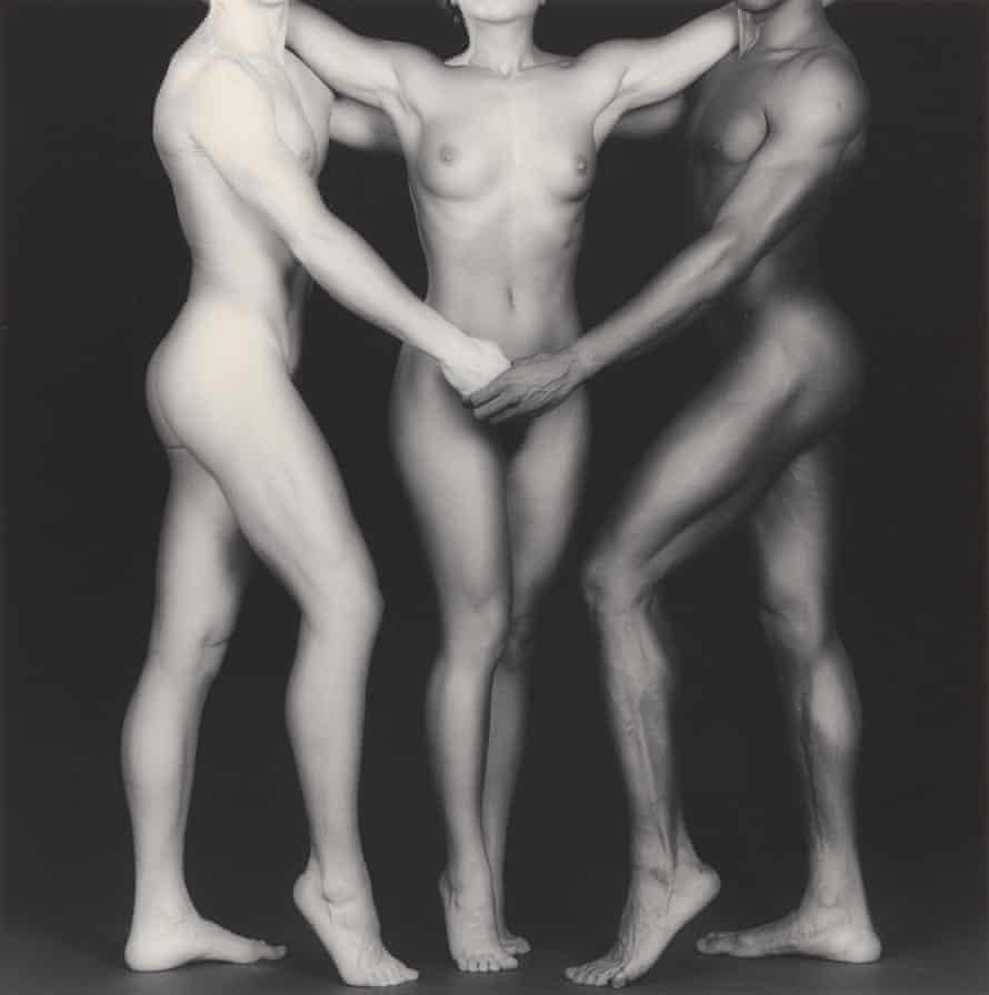 Ken and Lydia and Tyler, 1985, by Robert Mapplethorpe.