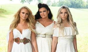 'It's blood harmony' ... Miranda Lambert, Angaleena Presley and Ashley Monroe, AKA Pistol Annies.