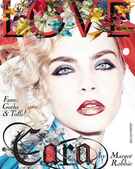 Love, September 2016 issue, with Margot Robbie.