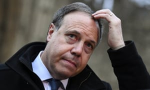 Nigel Dodds, leader of the DUP in the House of Commons