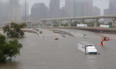 Thousands await rescue amid 'catastrophic' flooding in Texas – as it happened