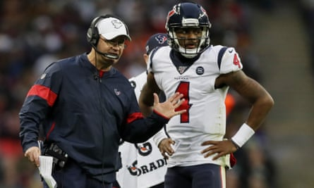 Bill O'Brien had one of the most talented players in the NFL, Deshaun Watson, but failed to provide him with support