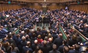 MPs in the House of Commons, where the government suffered its first defeat over the European Union (withdrawal) bill.