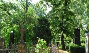 Dorotheenstadt cemetery, in Berlin.