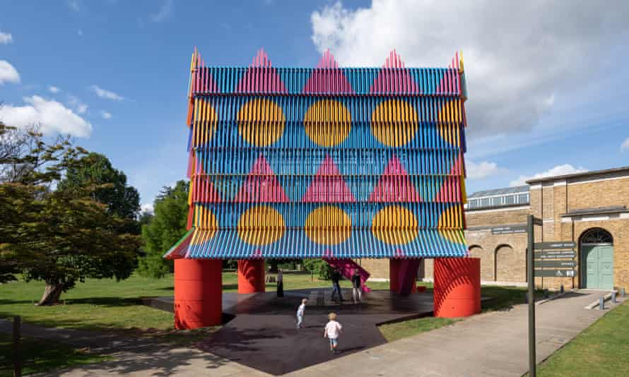 Colour me beautiful … this year's Dulwich Pavilion, by Yinka Ilori and Pricegore.