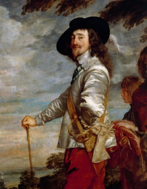 Portrait of Charles I by Anthony van Dyck.