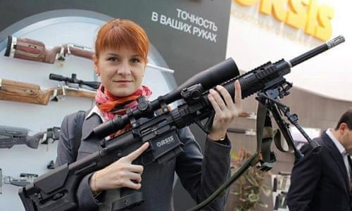 Russian Woman Charged With Spying For Moscow By Infiltrating Nra Us News The Guardian