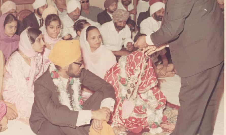 Harjinder Jutley on his wedding day