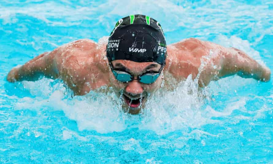 Myanmar swimmer Win Htet Oo