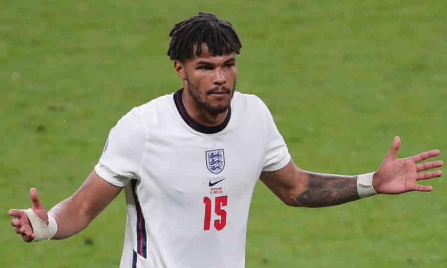 Tyrone Mings accused Priti Patel of hypocrisy for condeming racism he says her previous comments had helped to stoke.