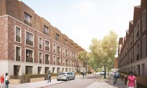 Chobham Manor: a new housing development where three-bedroom houses start at £665,000.