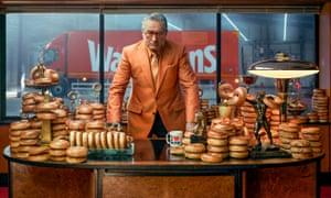 'Bolton bakes best bagel? My butt' … Robert De Niro in the Warburtons TV ad.