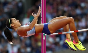 Johnson-Thompson at the 2017 world championships in London. 'I hit a real low'