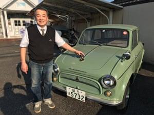 Shoichi Katayama of Cafe Wagen.