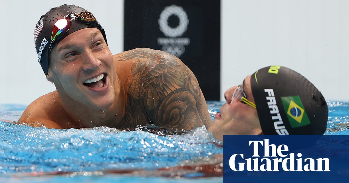 USA's Caeleb Dressel wins fourth gold of Olympics with victory in 50m freestyle
