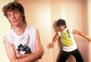 'Everything was oversized, excessive and ridiculous. But hey – it was the 80s!' … Daryl Hall, left, and John Oates.