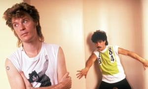 Yacht-rockin' beats … Hall and Oates in 1984.